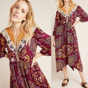 Meredith Embroidered Maxi Dress